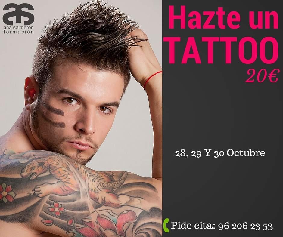 Hazte un tattoo en Valencia